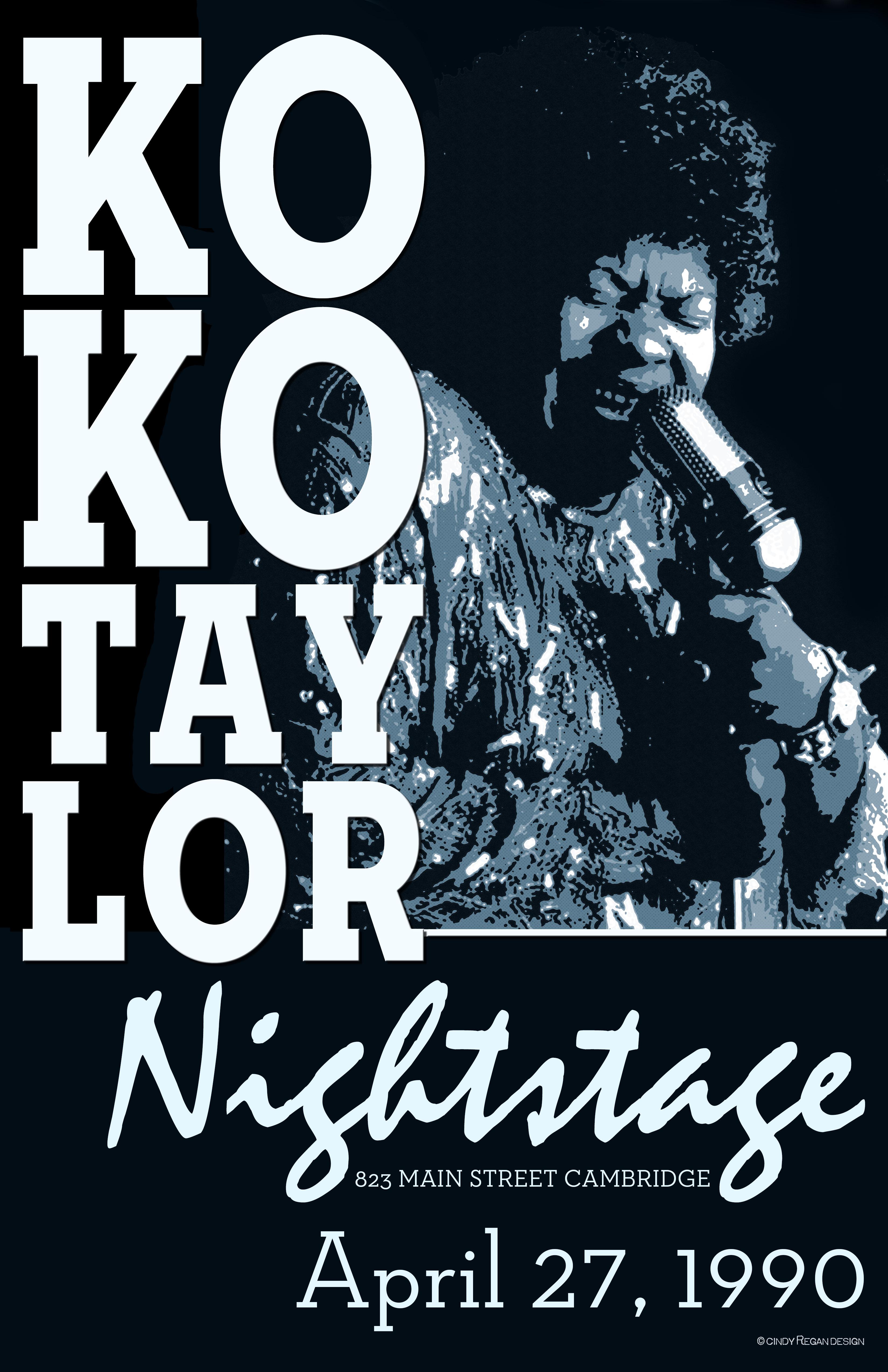koko taylor nightstage 4-27-90
